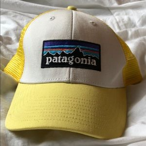 Patagonia yellow hat